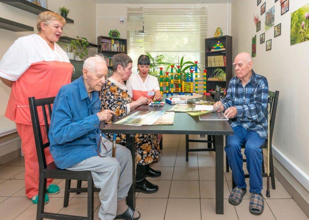 картинки пансионат для престарелых самого дня
