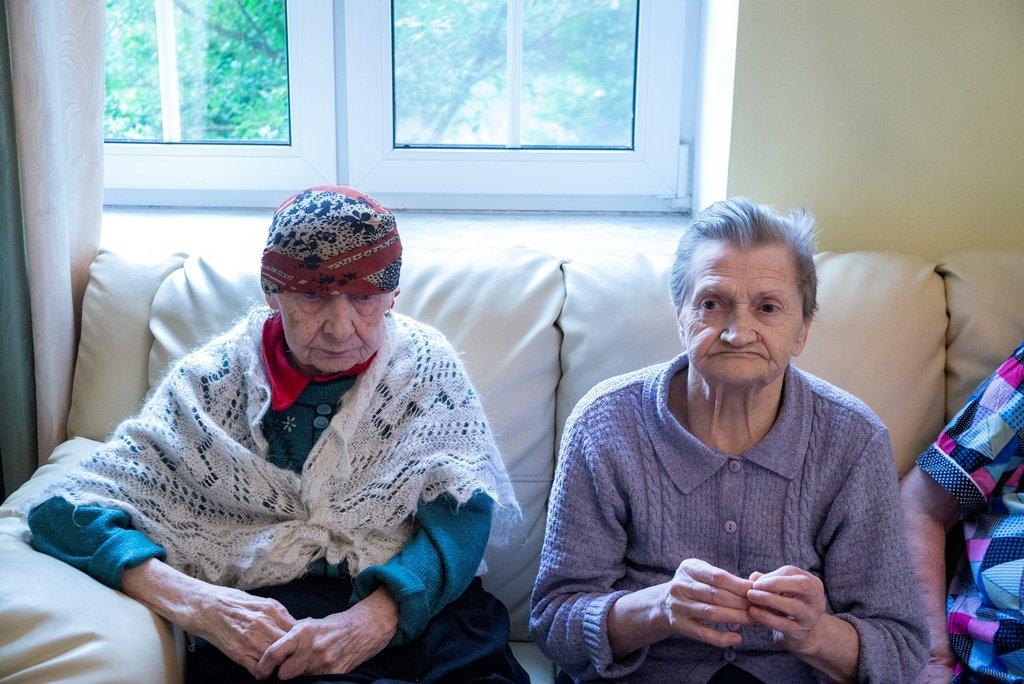 хорошие слова для дома престарелых